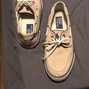 Polo boat shoes by Ralph Lauren